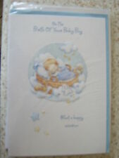 Greeting card On The Birth Of Your Baby Boy