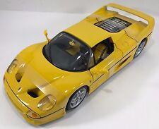 BBURAGO - 18-16004 - Ferrari F50 course et joue échelle 1:18 - Jaune