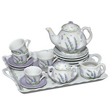 Andrea by Sadek Child's Lavender Tea Set!  Adorable for any young lady!