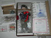 "1993 Ashton-Drake "" Wrapped Up in Christmas"" 13"" Lmtd Editin Porcelain Doll New"