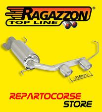 RAGAZZON TERMINALI SCARICO CENTRALI 2 / 90mm ALFA MITO 1.3 JTDm 70kW 95CV 10->13