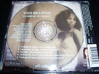 Toni Braxton Unbreak / Un-Break My Heart Aust Picture 5 Track CD Single
