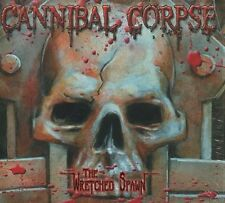 """CANNIBAL CORPSE """"The wretched spawn"""" (CD+DVD Digipack)"""