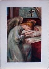 1950 Sacra Angelo -- dis.Adelina Zandrino ediz.Arti Grafiche Alinari Baglioni