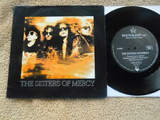 The Sisters Of Mercy  - Doctor Jeep/Knockin' On... (LIVE) - Picture Sleeve PS 7""