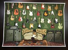 """JIMI HENDRIX EXPERIENCE"" DALTON LIM EDN OFFICIAL HENDRIX ROCK GUITAR PRINT $75"