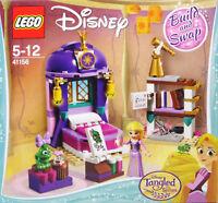 LEGO Disney 41156 Rapunzel's Schlafgemach Bett Regal Fenster Chamäleon Buch NEU