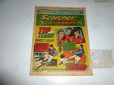 SCORCHER & SCORE Comic - Date 09/10/1971 - UK Paper Comic