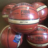 New Molten Basketball GF7X GP7X PU Size 7 Indoor Outdoor Men's Ball FIBA Use