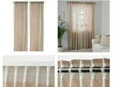 New IKEA Linen Curtains DYTAG - 2 Panels, Beige