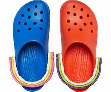 Classic Croc Day Clog 2020 Size 9 M RARE Triple Strap Blue Orange CONFIRMED
