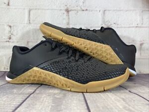 Nike Metcon 4 XD Chalkboard Black Gum Training Shoes BV2052-002 Women's Size 8