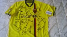 MAILLOT FC BARCELONE signé
