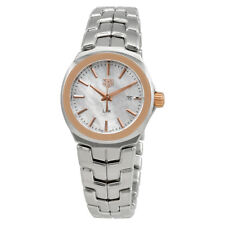 Tag Heuer Link Mother of Pearl Dial Ladies Watch WBC1350.BA0600