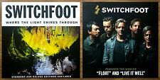 SWITCHFOOT Where The Light Shines Through 2016 Ltd Ed New RARE Poster Display!