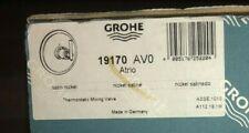 GROHE 19170AVO Atrio Thermostat Trim Satin Nickel