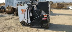 DIAMOND PRODUCTS CORE CUT 6571 Demonstration DIESEL walk behind concrete saw