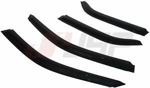 JSP Window Vent Visor Fits 2001-2006 Acura MDX Rain Guard Deflector Smoke 218049