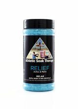 ATHLETIC SOAK THERAPY RELIEF-SOAK ACHES & PAINS-BATH, HOT TUB, SPA, WHIRLPOOL