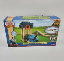Thomas & Friends Wooden Railway Coal Hopper Figure 8 set complete used