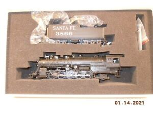 BLI PARAGON HO 2-10-2 ATSF Locomotive WITH DCC & SOUND - Santa Fe RR Modernized