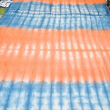 2.5 Yard Bhandani Craft Sewing Material Indian Hand-Dyed Cotton Shibori Fabric A