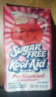Kool-Aid Sugar Free Soft Drink Cherry Mix Vintage Packaging