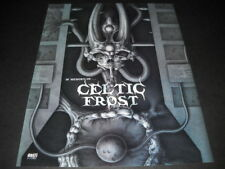 CELTIC FROST Tribute IN MEMORY OF ... original 2-sided Record Co. Info Sheet