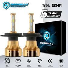 2PCS H4 HB2 9003 LED Headlight Kit HI-LO Beam Bulbs 2500W 375000LM 6000K White