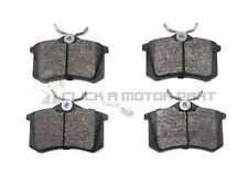 FIAT ULYSSE 2.0 2.2 JTD 2002-2006  REAR BRAKE PADS SET OF 4