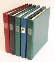 Bundesrepublik 1949 bis 2000 postfrische TOP-Sammlung in 5 Lindner, 6.000 Euro