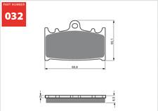 PLAQUETTE DE FREIN AV GOLDFREN S3 032 SUZUKI GSXR 250RK/400J/K6/600V/750Y 88-08