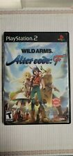 (D2) Wild Arms: Alter Code F (Sony PlayStation 2, 2005) Authentic & Complete!