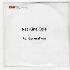 (GG78) Nat King Cole, Re: Generations - 2008 DJ CD