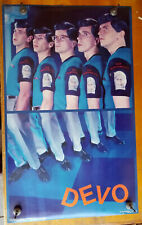 original 1981 poster devo new traditionalists $75
