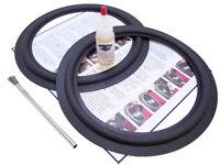 "Standard 10"" Speaker Foam Surround Repair Kit - Universal FLAT ATTACH - 2F10-23"