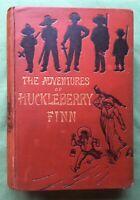 Mark Twain.1884. The Adventures Of Huckleberry Finn. 1st Edition. **Fantastic**