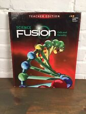 *Science Fusion Mod A. Student Book - Textbook - Brand New 2017 Ed (6-8 Grade)