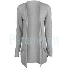 Collared Patternless Long Sleeve Women's Jumpers & Cardigans