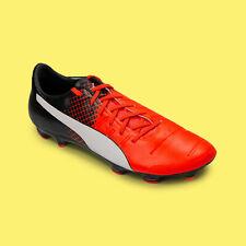 Puma evoPOWER 2.3 FG Mens Soccer Cleats Red Blast Size 13 US