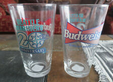 "1997 Seattle Mariners 20th Anniversary 5 3/4"" Glass Pounder Budweiser Lot of 2"