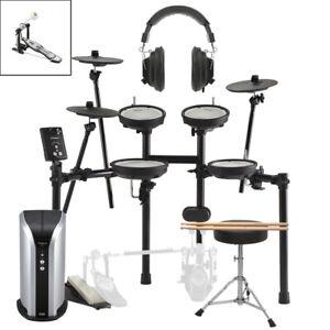 Roland TD-1DMK With Sticks, Stool, Monitor & Headphones
