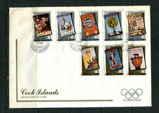 First Day Cover Cook Islands Stamps