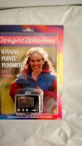 "WEIGHT WATCHERS ""Winning Points"" Pedometer. NEW in box"