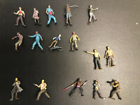 Walking Dead Mcfarlane Loose Action Figure Lot of 16 Walking Dead Figure TV Show