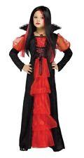 Chica Vampiro Disfraz Halloween Vestido de fantasía adolescente Talla 12-14 años de edad