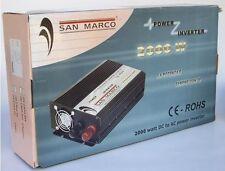 Power inverter da 2000 a 4000 w convertitore corrente per camper caravan tir
