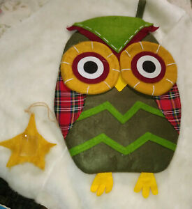 owl fun pocket decor backpack