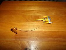 STAR WARS, MINIATURE NABOO FIGHTER WINDOW HANGER, USED CONDITION