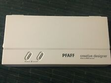 Genuine PFAFF Creative Designer ML0002 ML 0002 Programming sheets & Manual Book
